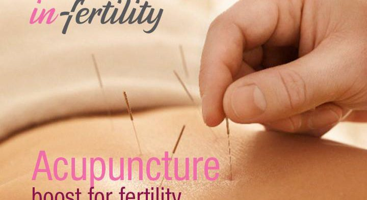 Acupuncture increases your fertility